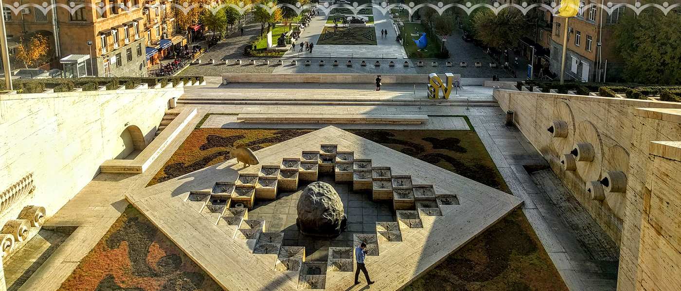 Casscade- Yerevan, Armenia