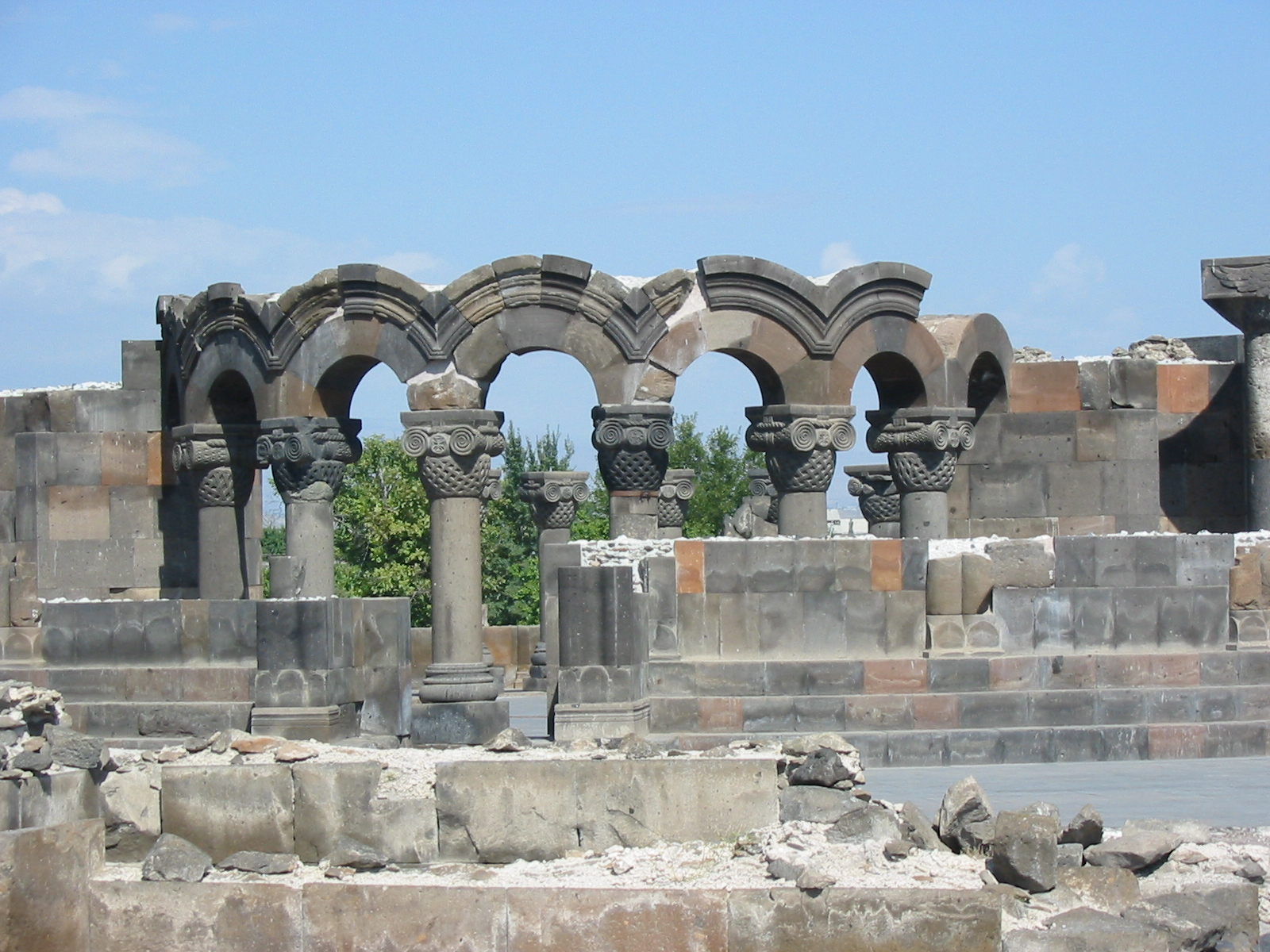 Звартноц — Храм Небесных Ангелов