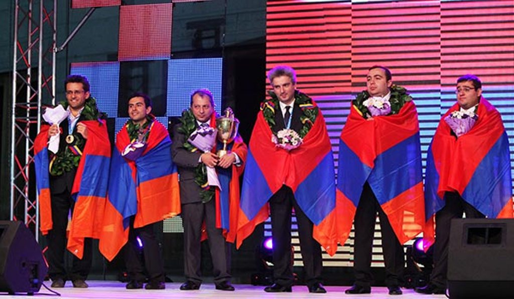 Armenian Team World Chess Champion