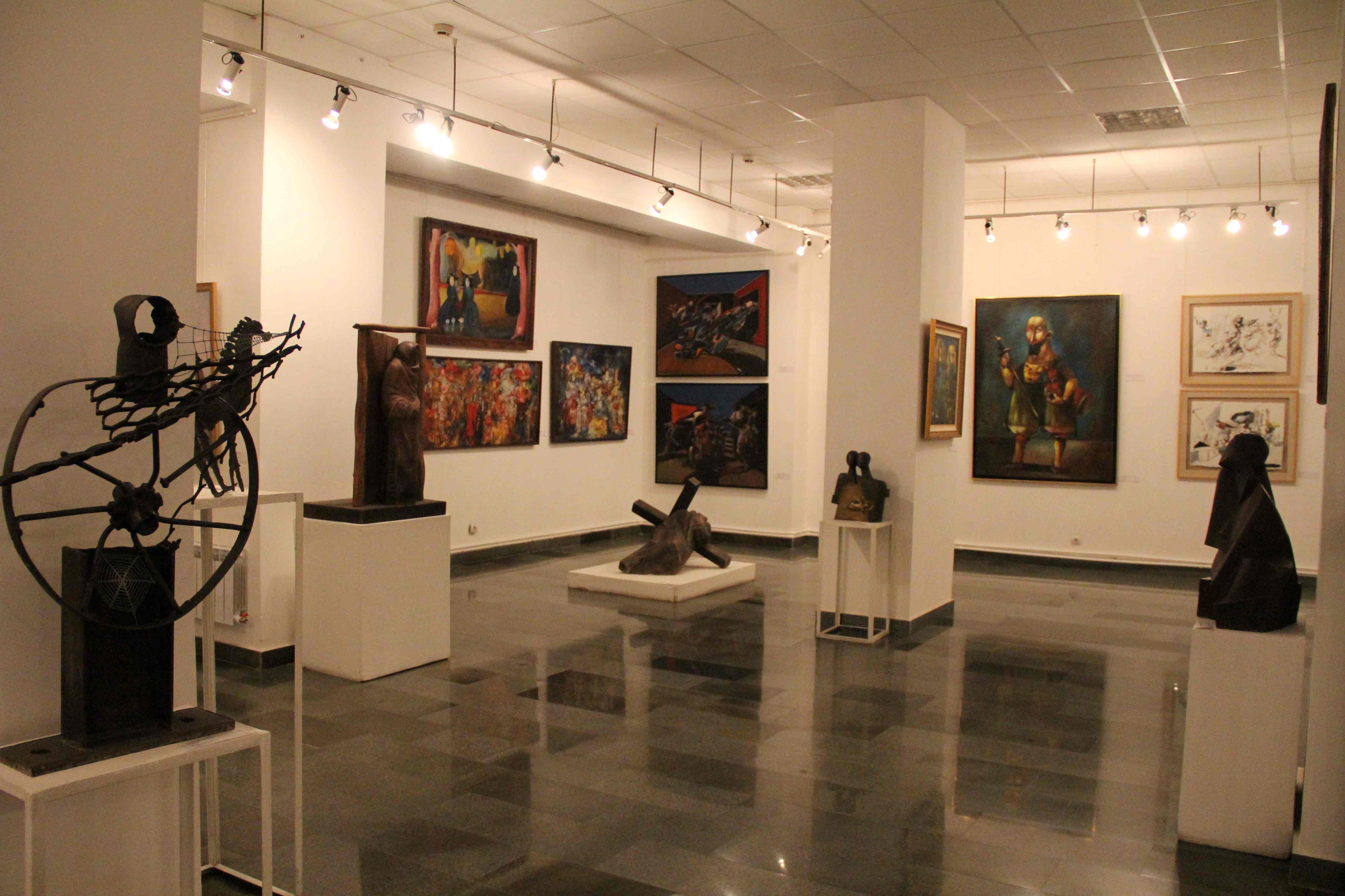 Museum Of Arts And Design Inside : Modern art museum unique cultural center