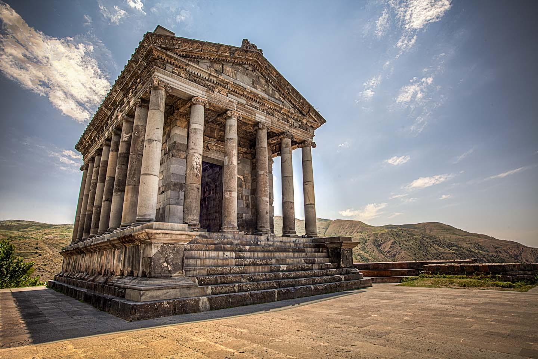 Temple païen de Garni