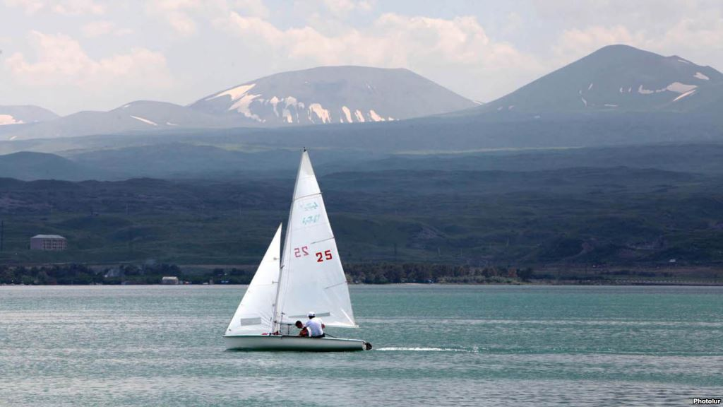 Lake Sevan. The pearl of Armenia